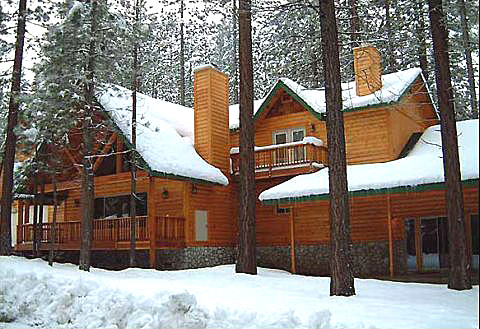 Big bear getaway cabin rental company cabins and for Snow summit cabin